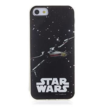 DAM Star Wars Carcasa Gel Iphone 5/Se X-Wing, 100% Original OFICIAL