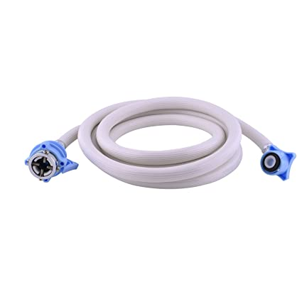 Neerjharini Shatm 5 Meter Cold & Hot Water Inlet Pvc Pipe Hose For Fully Automatic Top & Front Loading Washing Machine