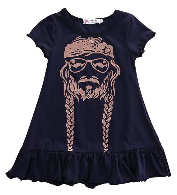 6261748961 Niña Vestido De Princesa de Kid bebé de manga corta vestidos de fiesta ropa  2 - 7Y negro negro 3-4 Años  Amazon.es  Ropa y accesorios