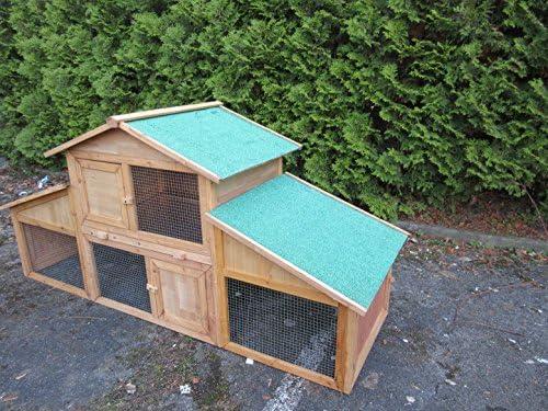 conejeras Conejos Establo hogar cobaya adolescente de casa Para Exteriores para animales pequeños: Conejo, conejos, cobayas Gatos etc