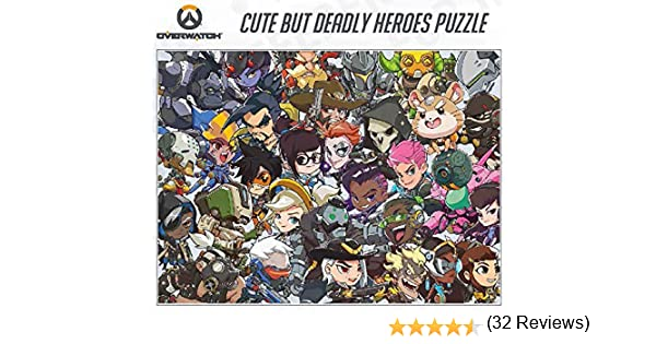 Overwatch: Cute But Deadly Heroes Puzzle: Amazon.es: Blizzard Entertainment: Libros en idiomas extranjeros