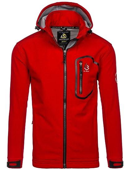 9629c7168f43e9 BOLF Herren Übergangsjacke Sweatjacke Kapuze Sport Jacke 4D4 MIX:  Amazon.de: Bekleidung