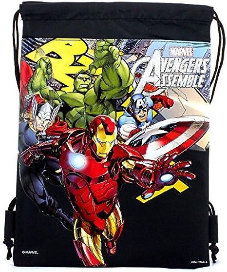 """Marvel Comics Avengers Assemble Boy/'s Graphic Messenger Bag Case 13/"""" x 14.5/"""""""