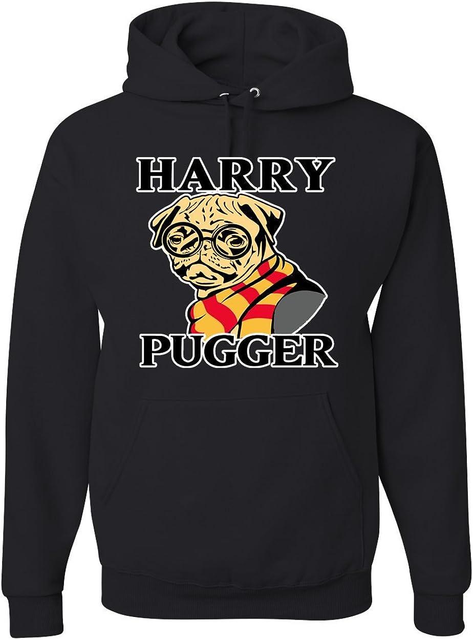 Cute Pug Lovers Gift T-Shirt shopdoz Harry Pugger T-Shirt