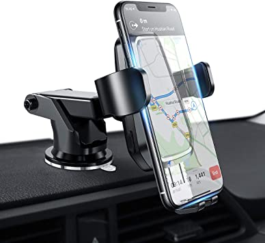 Compatible with iPhone 11 10 XS Pro Max X//Samsung Plus Galaxy S9 S8 Note//Smartphones Dash Mounted Cell Phone Holder for Cars Magnetic Phone Car Mount with Ultra Strong Magnets