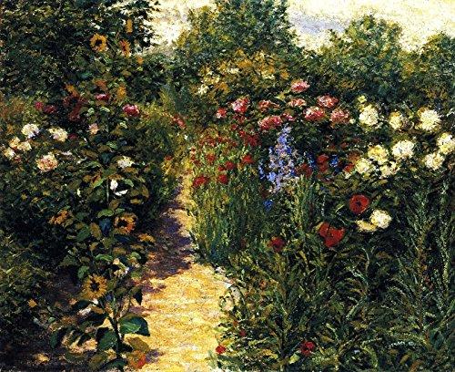 John Leslie Breck Garden at Giverny ~ in Monets Garden Terra Foundation for American Art 30