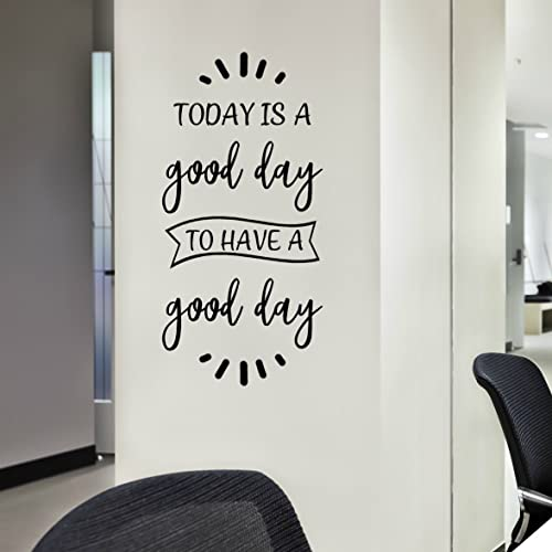Today Is A Good Day Wall Art, Positive Inspirational Quotes Decals and  Sayings Stickers, 12\