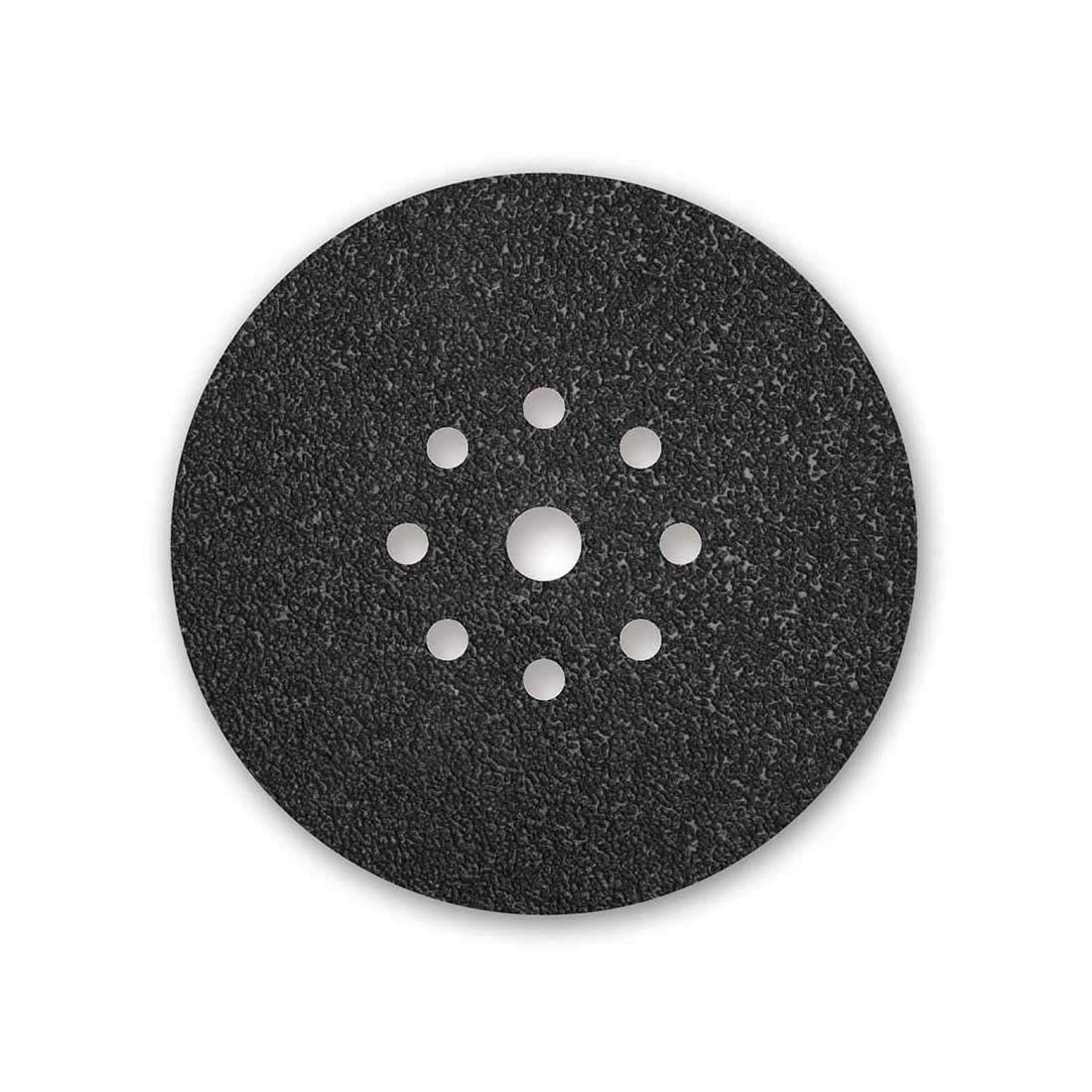 10 Abrasivi in velcro MENZER per levigatrice per muri /Ø 225 mm Grana 16-9 fori nero