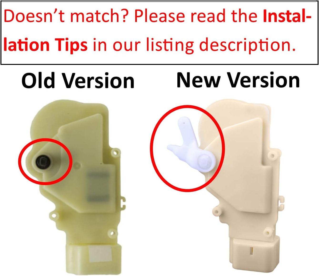 Set of 4 Power Door Lock Actuators Fit for 2004-2006 SCION XB 2000-2005 TOYOTA ECHO All 4 Doors 72024S-4