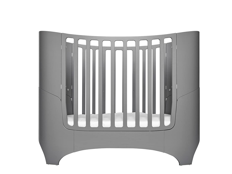Leander Baby- und Kinderbett in grau lackiert OHNE MATRATZE