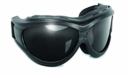 5e59d4d7199 Image Unavailable. Image not available for. Color  Big Ben Motorcycle  Goggles Smoke Lense Fit Over Glasses