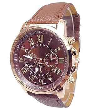 Limpieza de venta! Relojes para mujer, ICHQ, reloj analógico único de moda para mujer, relojes de pulsera para mujer: Amazon.es: Hogar