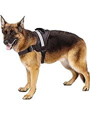 EXPAWLORER Big Dog Soft Reflective No Pull Harness