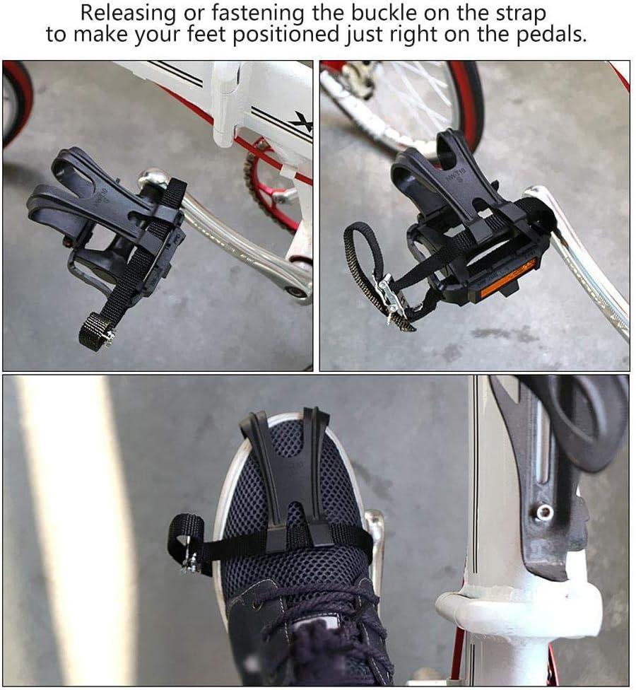 Tbest Pedales de Bicicleta de Carretera, 1 Par Pedales de Ciclismo ...