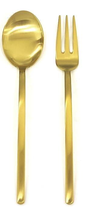 Mepra 108044110 - Cubertería especial unificada, color dorado, lote de 2 unidades: Amazon.es: Hogar