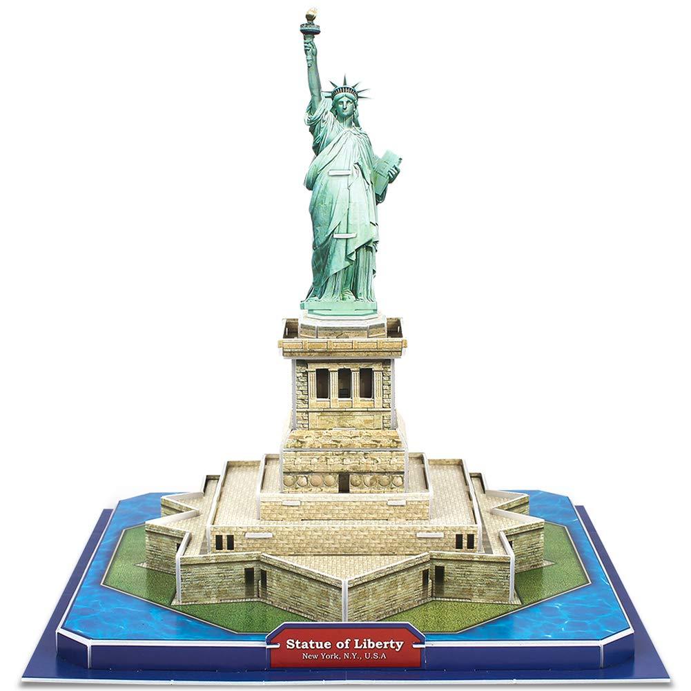 【超目玉】 (Statue CubicFun of B074KK9J4X Liberty) - CubicFun Statue of Liberty 3D 自由の女神 Puzzle Architecture New York, 40 Pieces 自由の女神 B074KK9J4X, オリジナル雑貨 Fave:eaab405d --- a0267596.xsph.ru