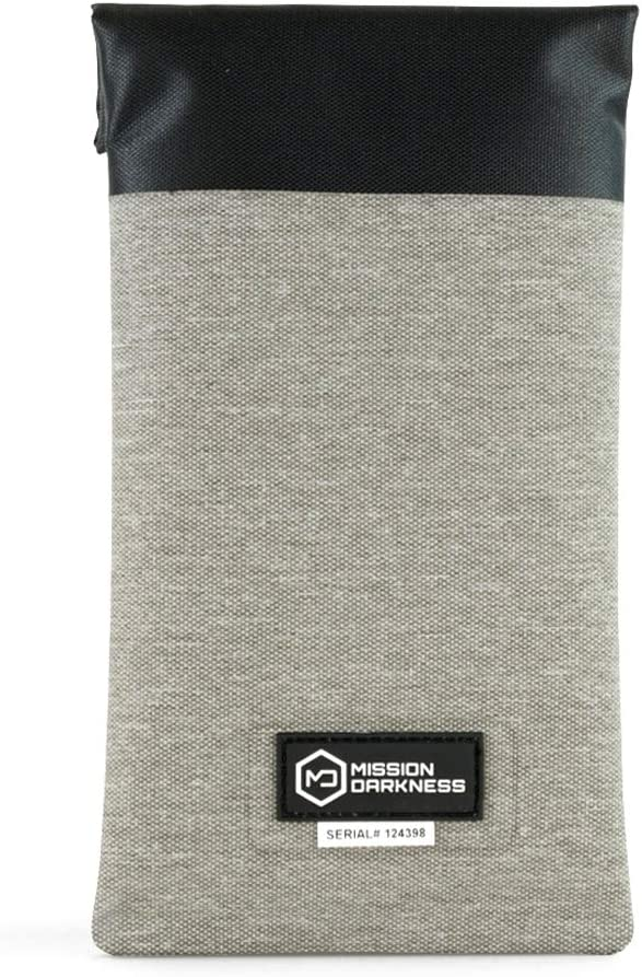 Mission Darkness Dry Shield Faraday Phone Sleeve // Slim Waterproof Dry Bag for Cell Phones + RF Shielding Liner // Signal Blocking, Anti-tracking, EMP Shield, Data Privacy, Electronic Device Security