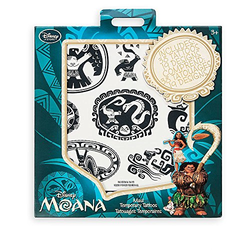 Disney Moana Maui Temporary Tattoos - Official Disney Store Product