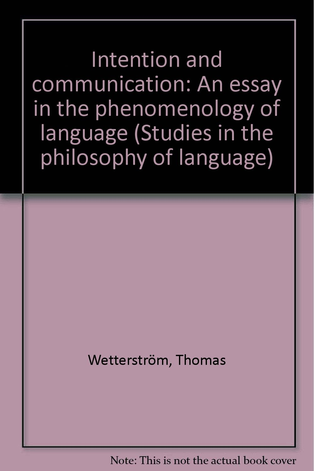 language as a tool of communication essay