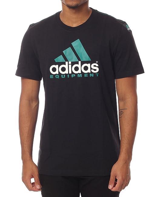 adidas Originals - Camiseta - para Hombre Negro Negro Small: Amazon.es: Ropa y accesorios