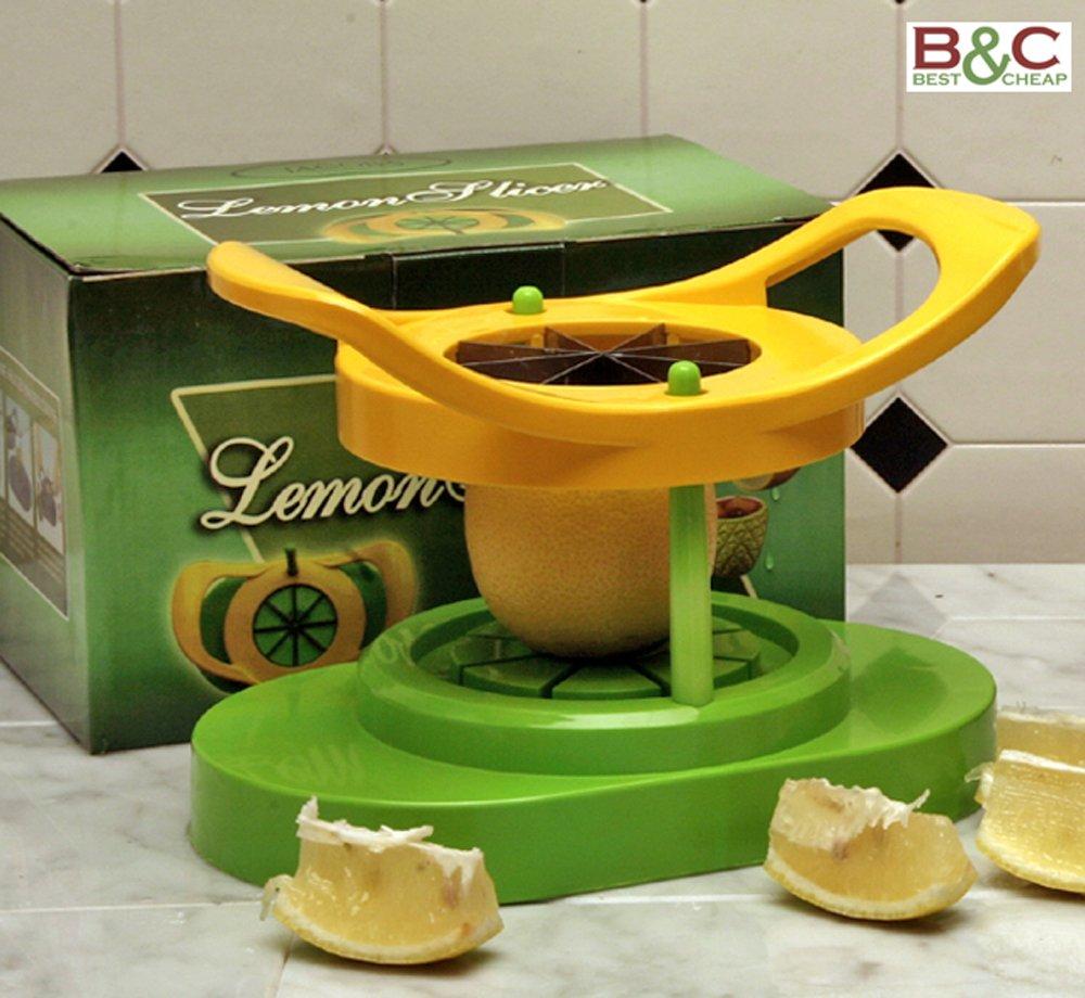 Slim Obstschneider gelb & grün–Größen: cm 12x 18