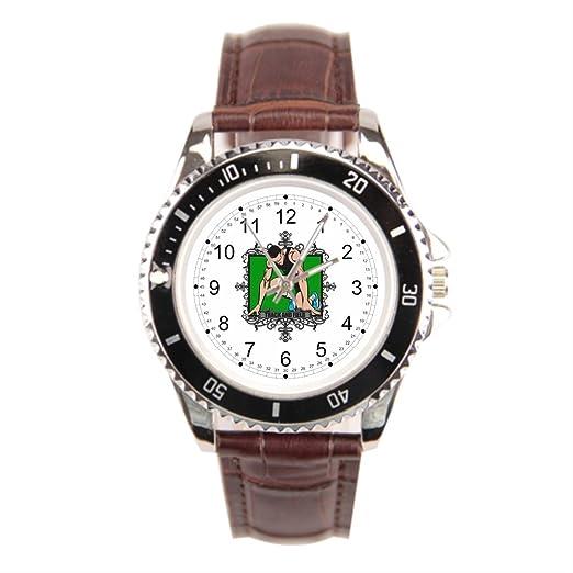 findself Sprinter deportivo de hombre correa de piel relojes relojes de pulsera.: Amazon.es: Relojes