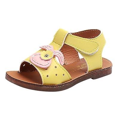 4233ce0a1ba35 ... Sandales Chaussures de Plage Blanc Jaune Rose Enfants Kid Girls Rabbit  Ear Sportives Filles Parapluie BéBé Garcon Mariage Plastique Scratch Ete  Kickers  ...