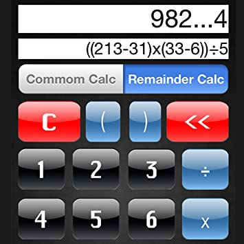 Amazon com: Remainder Calculator: Appstore for Android