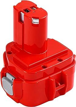 Shentec 12V 3.5Ah Ni-MH Bater/ía Para Makita PA12 1220 1222 1233 1200 1234 1235 1235B 1235F 1235A 192696-2 192698-8 192598-2 192681-5 192698-A 193138-9 193157-5 Con Cargador