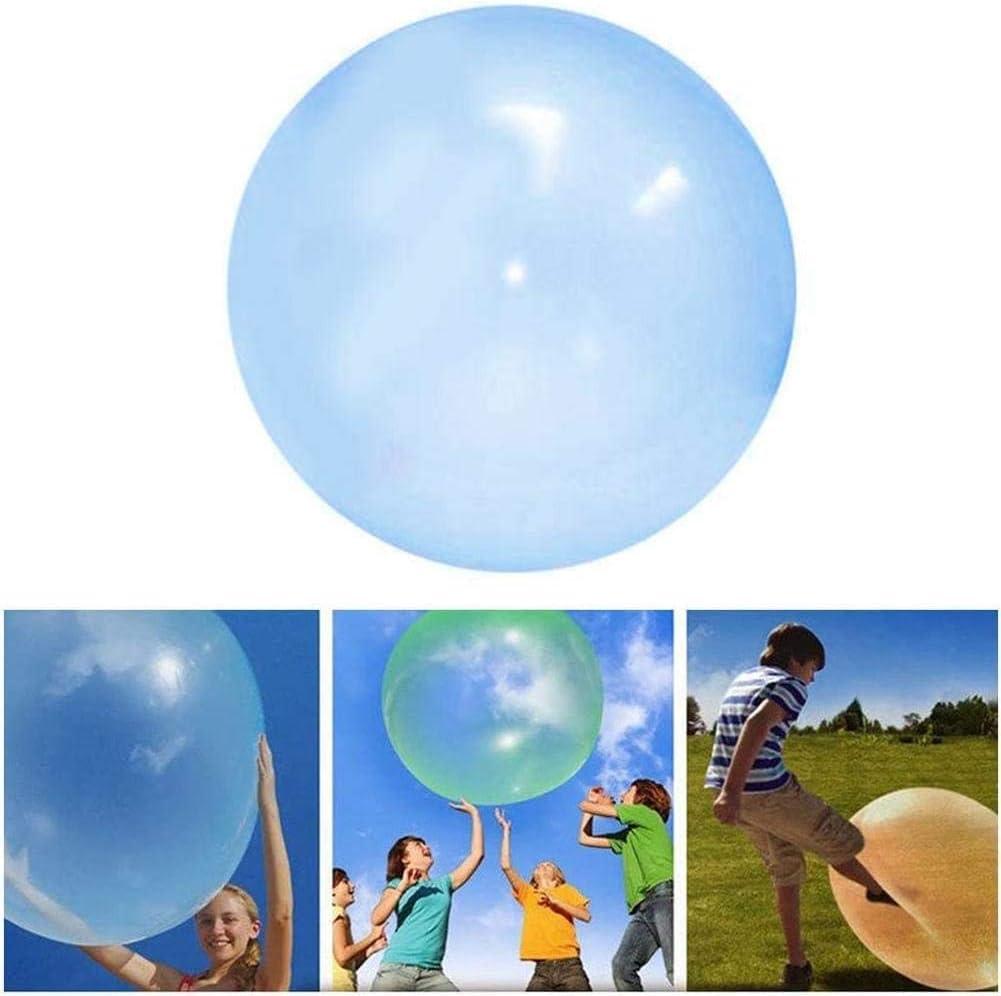 Geschenke Indoor-Aktivit/ä Blasdurchmesser 120CM TPR Transparenter Aufblasbarer Ball Wasser Strand Bubble Ball Partys Luftgef/üllter Strandgartenball F/ür Kinder Party Im Freien F/ür Den Pool