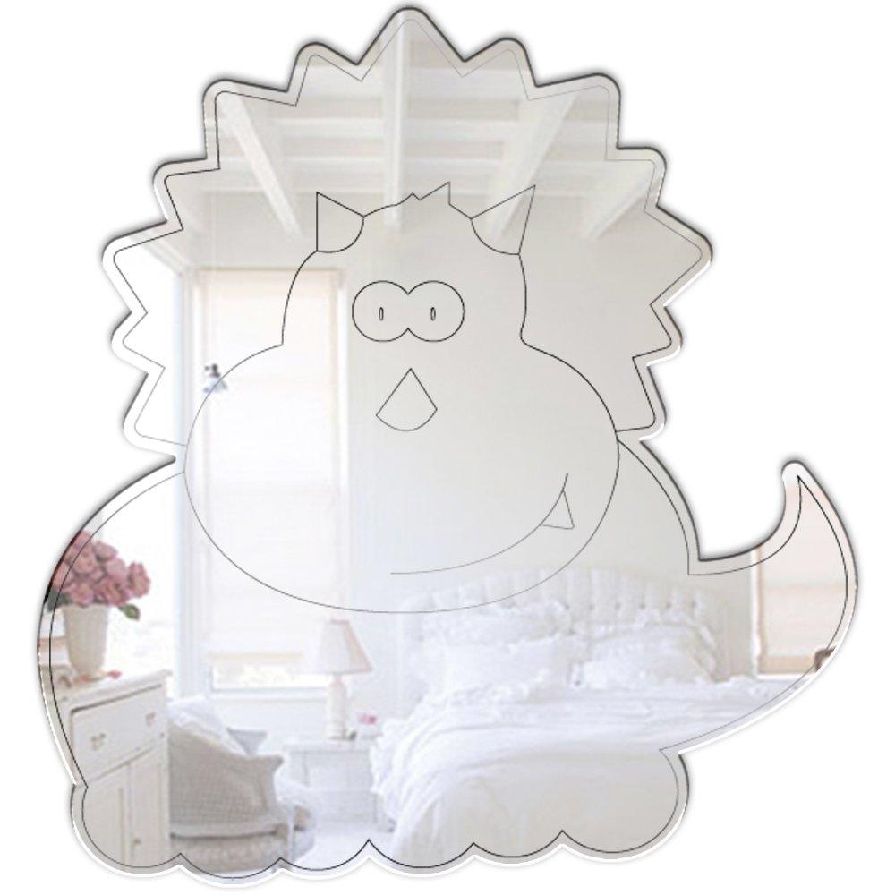Mungai Mirrors 0315 Baby Triceratops Acrylic Mirror