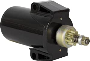 Rareelectrical New Starter Compatible With Mercury Marine 1980-05 Outboard 25Hp By Part Numbers 5090983A 5216040M025SM 50-90983A 50-90983A1 50-90983T1 5090983A1 5090983T1 5367 5216040M030SM SM20521