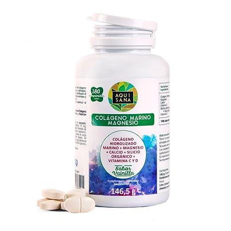 Colágeno Hidrolizado Marino ✓ Magnesio ✓ Calcio ✓ Vitamina C y D ✓