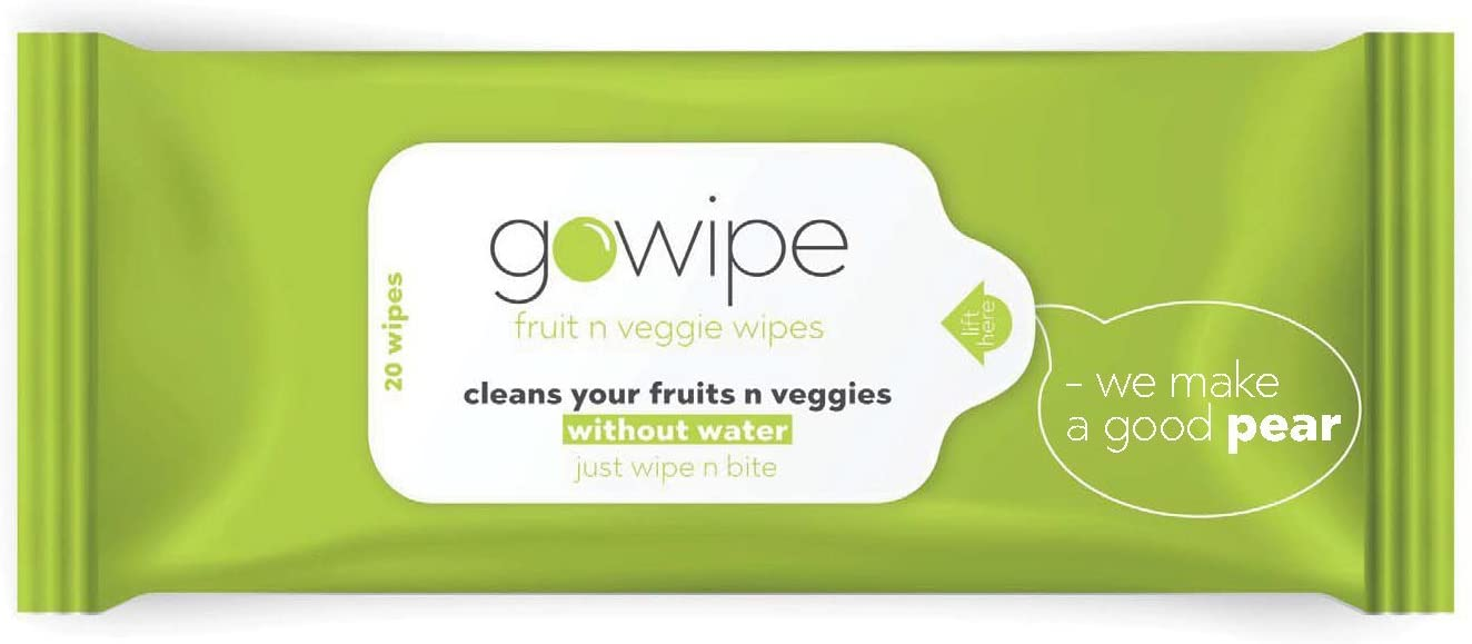 Gowipe Fruit n Veggie Wipes- pack of 2