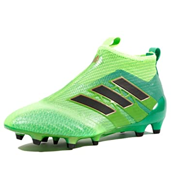 Ace 17+ Kids Pure Control FG Football Boots Solar Green