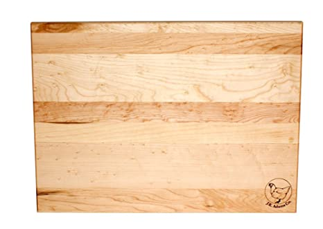 Jk Adams 20 Inch By 16 Inch Sugar Maple Wood Takes Two Cutting Board