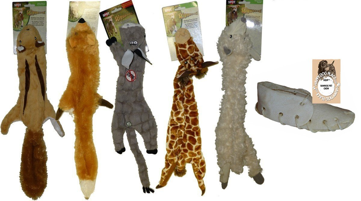 Skinneeez Stuffingless Dog Toy Large 24 Inch Size:Large Pack of 6 by HDP