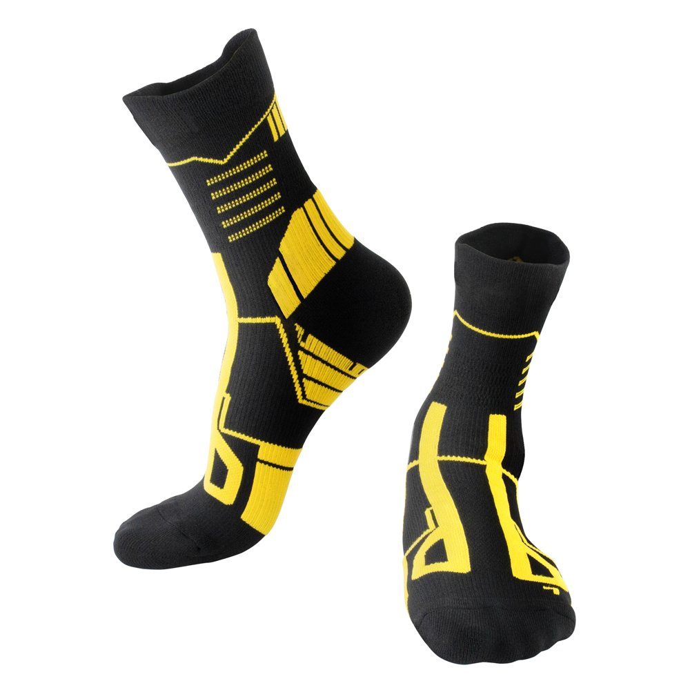 Sports Socks For Men Women,Ankle Long Professional Socks For Cycling Soccer Basketball Tennis Hiking Running,One Pair Zeruike
