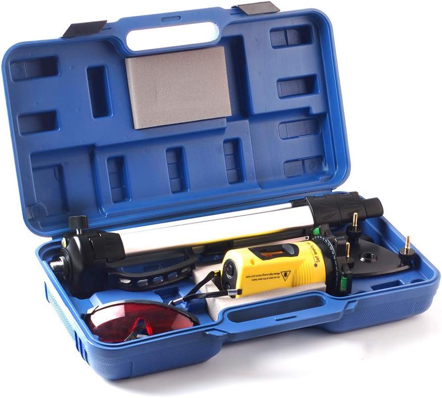 support tr/épied et /étui 360//° Rotatif Niveau laser de mesure de niveau croix