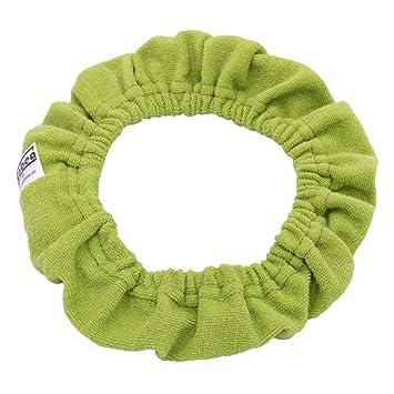 Gr/ün T/öpfchenbezug aus Bio-Baumwolle