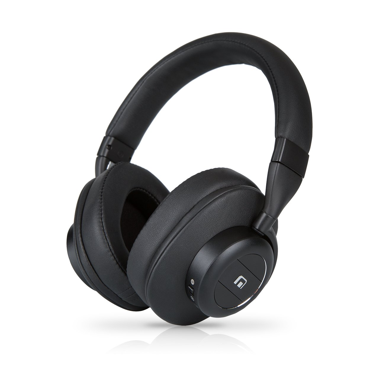 Culture V1 Upgraded BT 5.0 Wireless, Active Noise Canceling Headphones with Auto Pause Play Sensors, Swipe Controls, Quick Attention Ambient Mode, and Low Latency Tech for Wireless Audio Video Sync