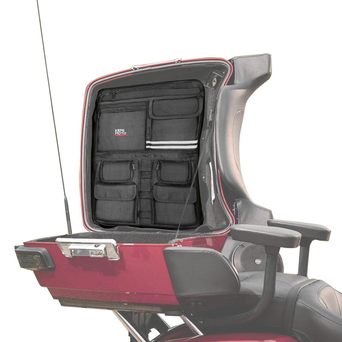 1984-2013 Tour Pack Lid Organizer for Road Glide Road King Electra Glide Street Glide Touring Travel-Paks