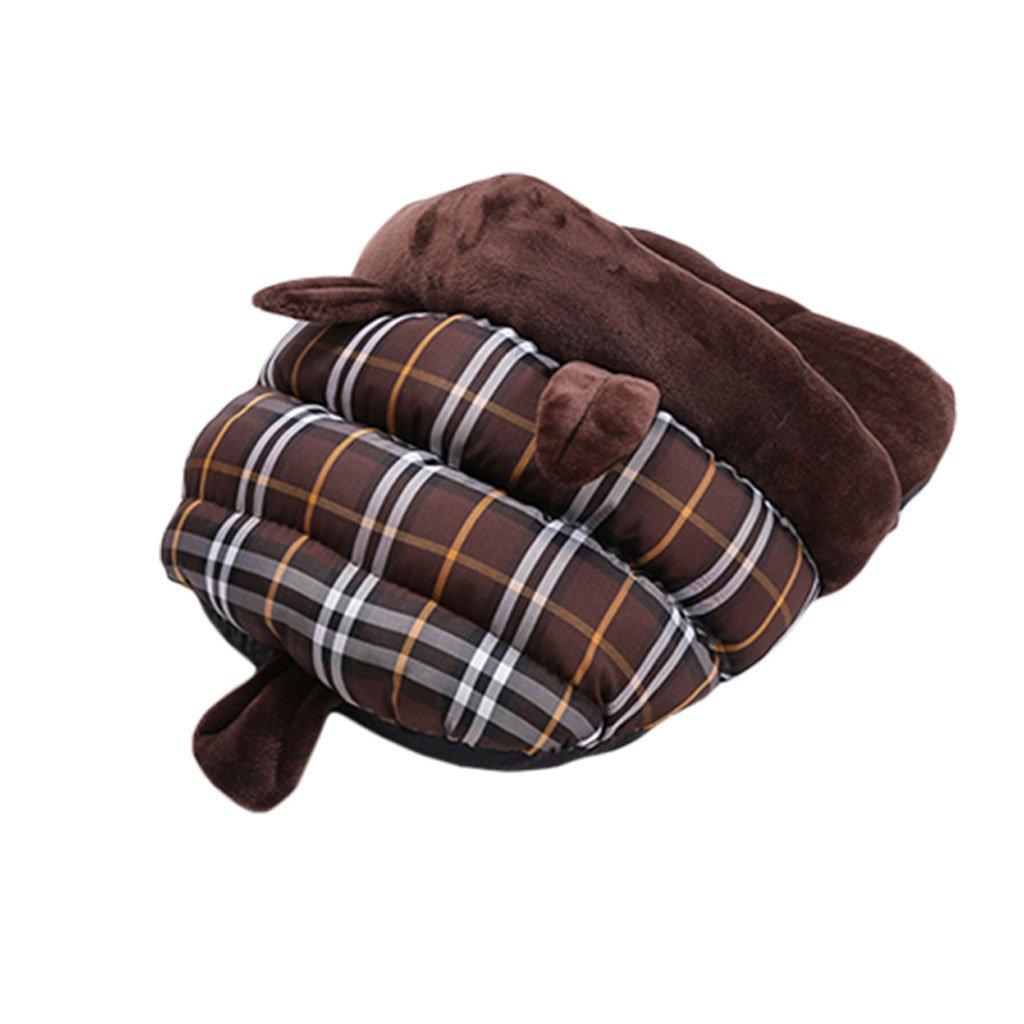 BROWN S BROWN S ZQZ Pet Bed Pet Bed Dog Mat Pet Mat Pet Sleeping Bag Pet Waterloo Cat House Dog Nest Pet Supplies ( ) (color   Brown, Size   S)