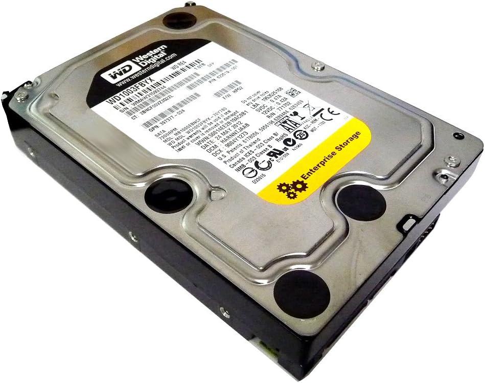 Western Digital 1TB WD RE4 1000GB Serial ATA II - Disco Duro (3.5
