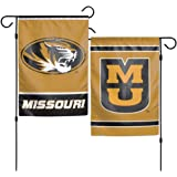 NCAA University of Missouri Mizzou Tigers 12x18 Inch 2-Sided Outdoor Garden Flag