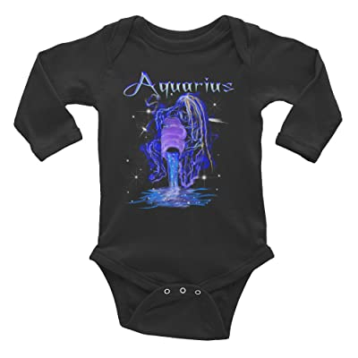 Aquarius Infant long sleeve one-piece