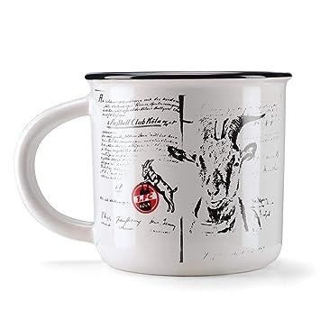 FC K/öln Tasse Mug Metallic 1 plus gratis Aufkleber forever K/öln