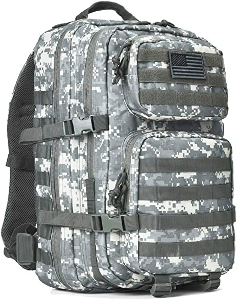 REEBOW GEAR Military Tactical Backpack Large Army 3 Day Assault Pack Molle Bug