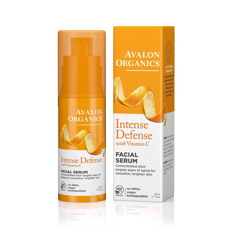 Avalon Organic Botanicals, Vitamin C Vital Serum, 1 oz