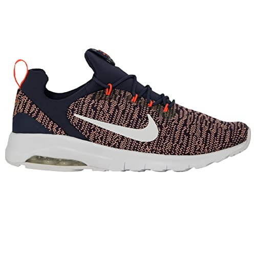 9eef0addb1 Nike Men's Air Max Motion Racer Running Shoes Neutral Indigo/White/Crimson 7